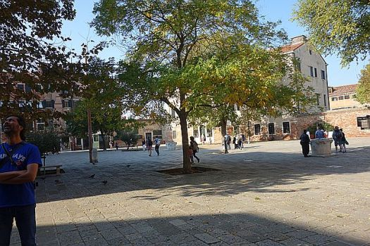 The campo (square) of the Old Ghetto
