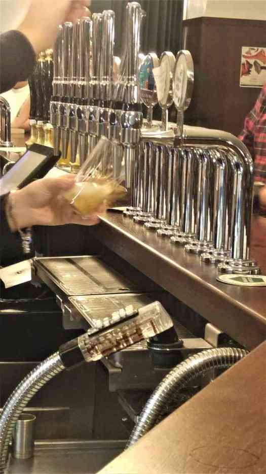 The pub has been taken over by a local craft beer company