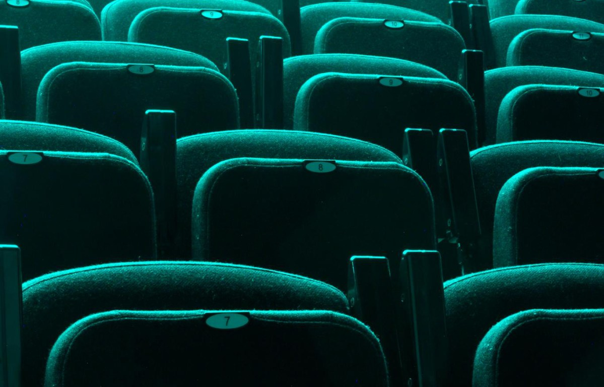 raked cinema seating from The Model theatre landscape