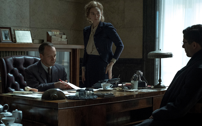 Peter Sarsgaard, Vanessa Kirby and James Norton in Mr Jones (Signature Entertainment, 7th Feb)