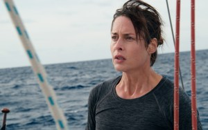 Susanne Wolff playing Rike in Styx. A trip of a lifetime sailing down the Atlantic coast of Africa is brought to a sudden halt with an unexpected encounter.