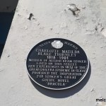 Charlotte Thornley historical plaque Melcoo Tours Sligo