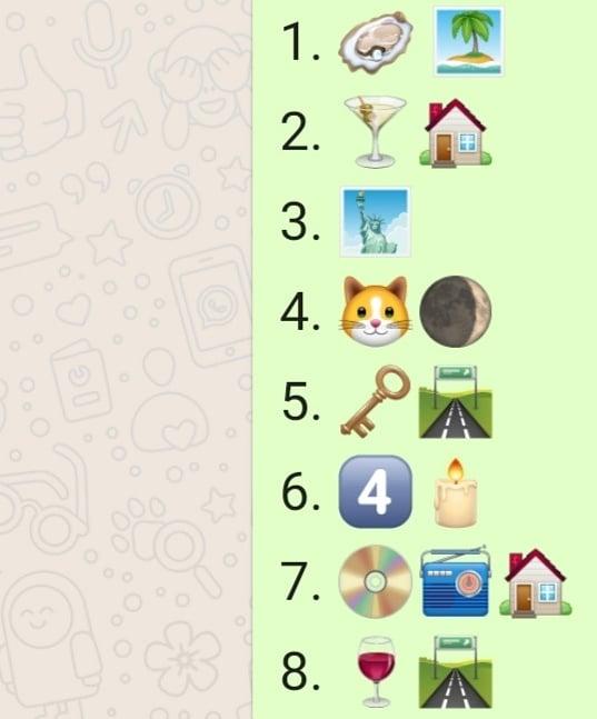 Emoji quiz sligo