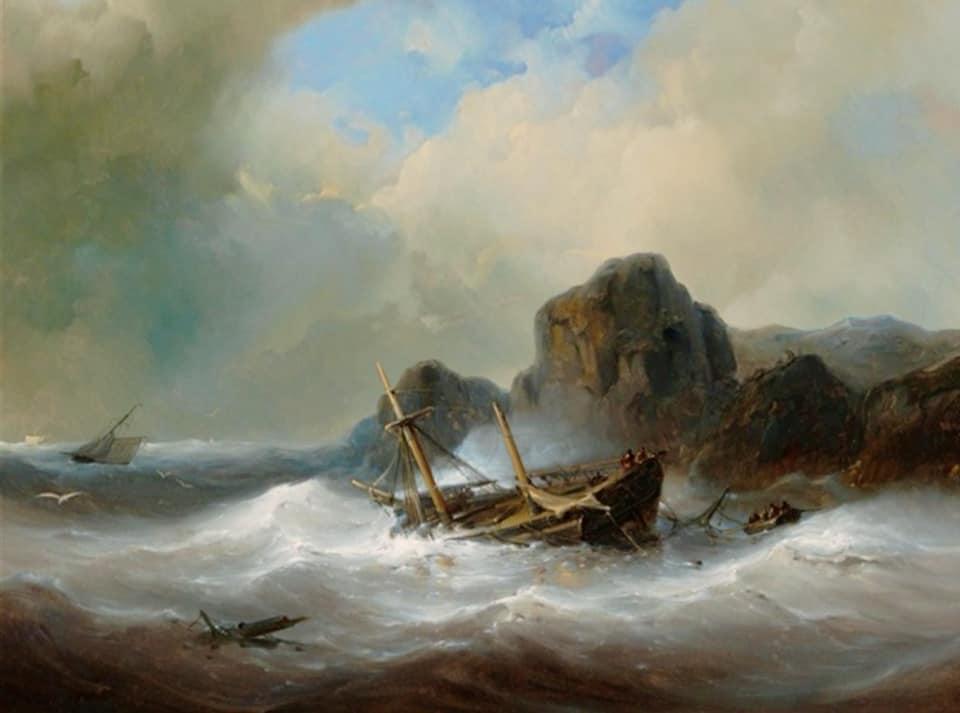 Melancholy Shipwreck