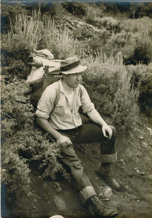 A short stay in Enniscrone in 1947
