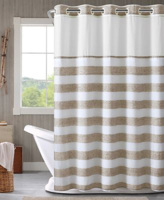 yarndye stripe 3 in 1 shower curtain
