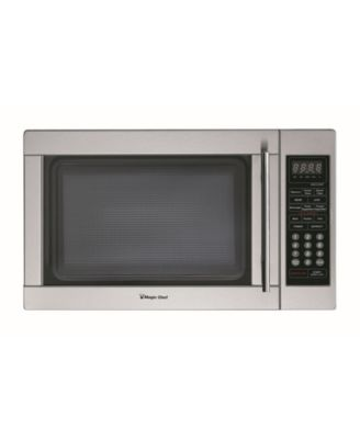 magic chef 1 3 cubic feet 1000w countertop microwave oven