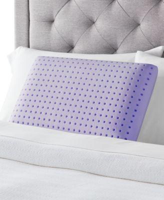 lavender aromatherapy memory foam pillow queen