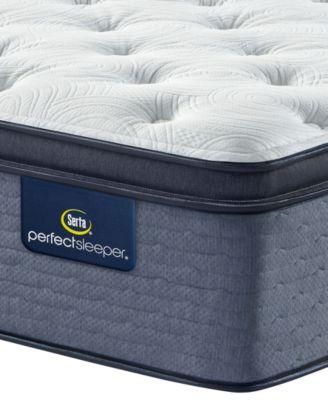 perfect sleeper cozy escape 15 plush pillow top mattress queen