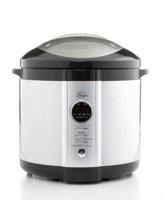 Wolfgang Puck WPPCR005 Pressure Cooker, 5 Qt. Electric