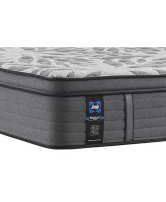 premium posturepedic satisfied ii 14 plush pillow top mattress queen