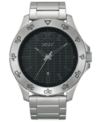 XNY Watch, Men's Urban Expedition Stainless Steel Bracelet 45mm BV8086X1