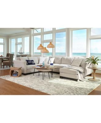 elliot ii fabric sectional and sofa collection created for macy s