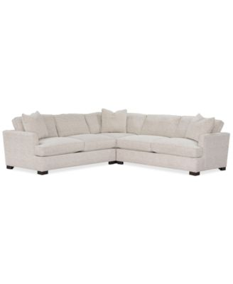 juliam 3 pc fabric l shape sectional sofa created for macy s