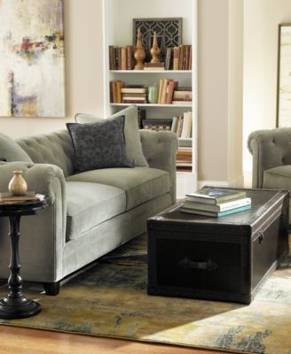 Soft fleece blanket · cookware set · blackout curtains · instant pot · dog bed · luxe mattress · dinnerware collection · leather chair. Martha Stewart Collection Saybridge Sofa - Furniture - Macy's