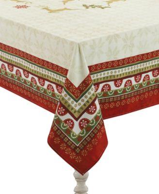 simply christmas tablecloth 70 x 120
