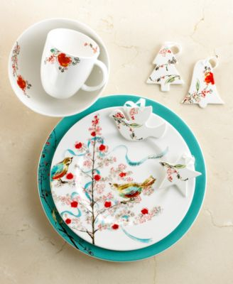 Lenox Chirp Holiday Dinnerware Collection