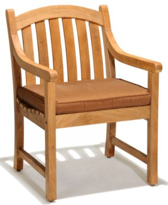 bristol teak outdoor dining chair created for macy s