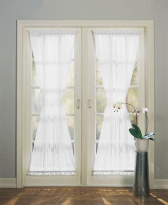 sheer voile 59 x 72 door curtain panel