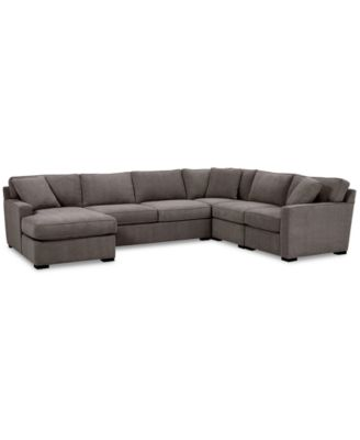 radley 5 pc fabric chaise sectional sofa with corner piece created for macy s