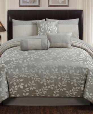 selvy 7 pc queen comforter set