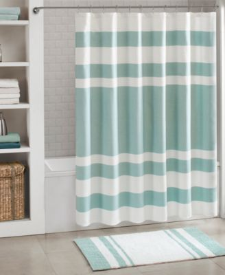 spa waffle shower curtains with 3m treatment