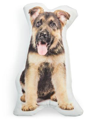 lacourte scout dog shaped pet pillow