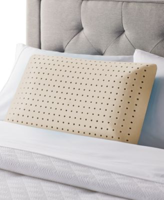 coconut aromatherapy memory foam pillow standard
