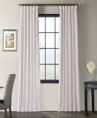 signature blackout velvet curtain panel