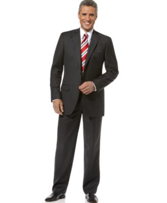 Tasso Elba Suit, Charcoal Solid