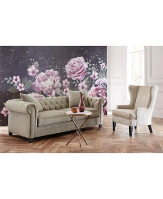 """Then you'll love the prices on martha stewart collection living room furniture. Martha Stewart Collection Saybridge 92"""" Fabric Sofa ..."""