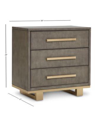 petra shagreen bedroom furniture 3 pc set king bed dresser nightstand