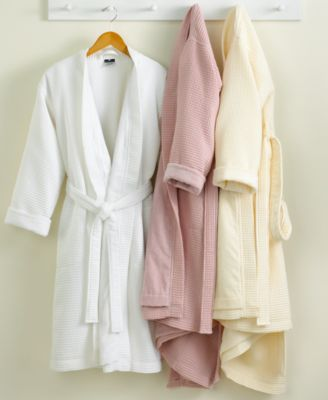 Hotel Collection Robe, Waffle Pique Bath Robe