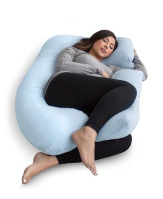 pregnancy pillow with jersey cover u shaped full body pillow