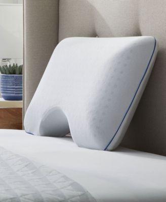 say goodnight side sleeper memory foam pillow standard queen