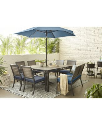 harlough ii outdoor dining collection with sunbrella cushions created for macy s