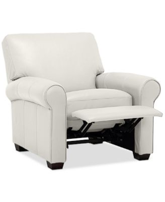orid 36 leather pushback recliner created for macy s