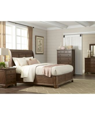 furniture gunnison solid wood bedroom