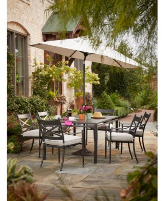 montclaire outdoor dining collection with sunbrella cushions created for macy s