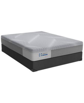 posturepedic hybrid medina 11 firm mattress set queen