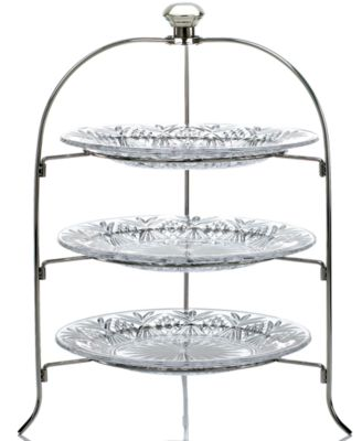 "Godinger ""Dublin"" 3-Tier Serving Rack"