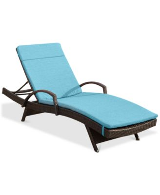 brown chaise lounges patio furniture
