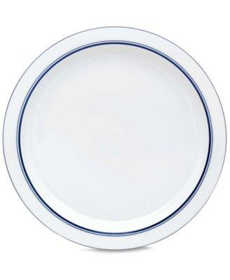 Dansk Dinnerware Christianshavn Blue Dinner Plate