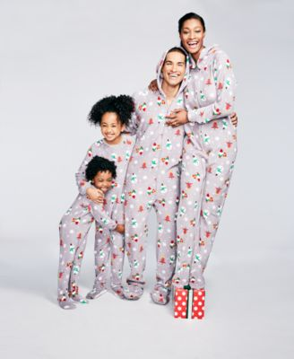 Family Pajamas Gnomes Footed Pajama Sets Created For Macy