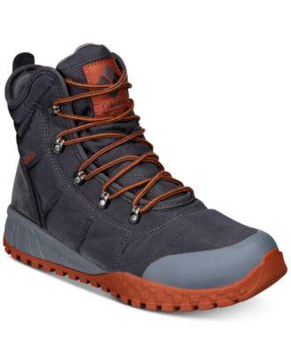 Columbia Mens Fairbanks Omni Heat Waterproof Boots All