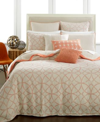 Hotel Collection Textured Lattice Linen Duvet Covers Only At Macys Bedding Collections Bed