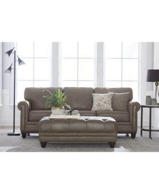 """We've curated all of your martha stewart collection favorites in one place. Martha Stewart Collection Bradyn 89"""" Leather Sofa, Created ..."""