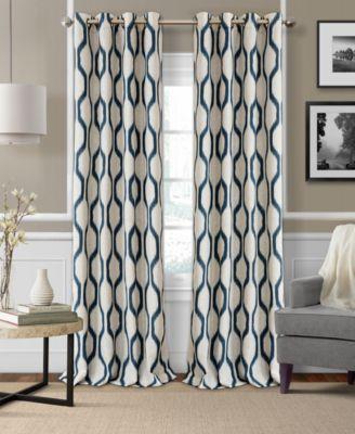 Elrene Renzo Blackout Panel Collection Easy Care Linen