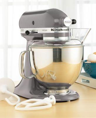KitchenAid KSM150PSSM Artisan 5 Qt Stand Mixer
