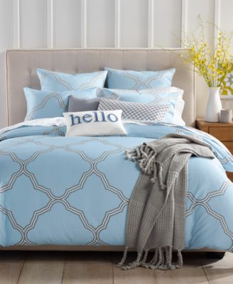 charter club damask designs tile geo comforter sets created for macy s